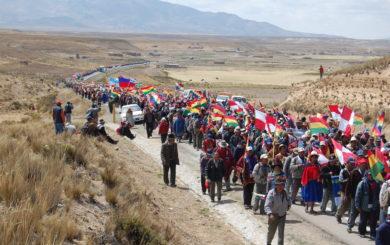 Sivilsamfunnet mobiliserer i Bolivia