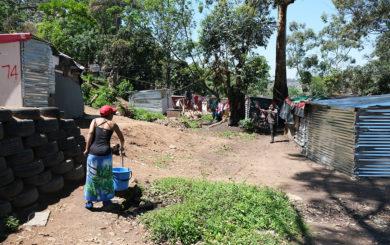 eNkanini settlement. Sør-Afrika