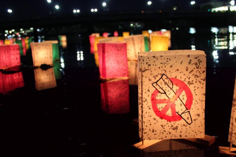 Fredslykter i Hiroshima