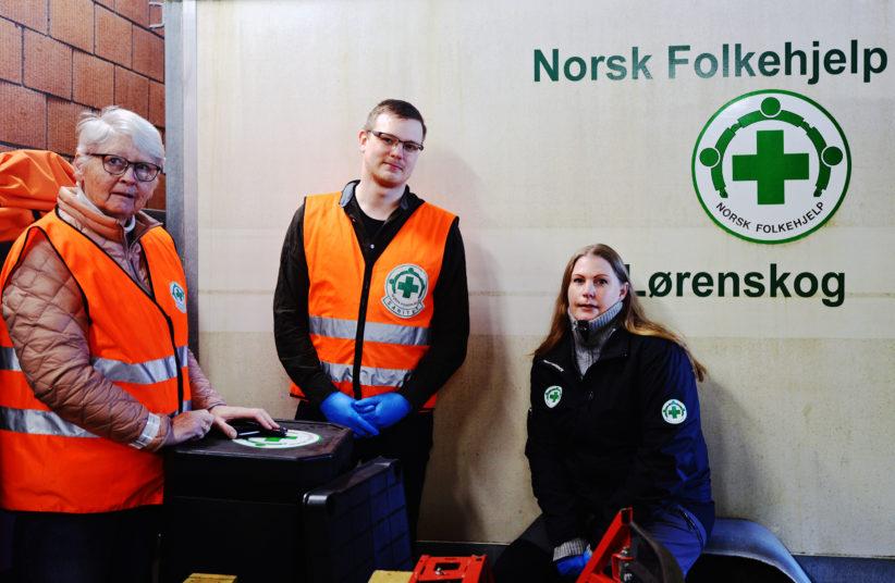Norsk Folkehjelp Lorenskog 25032020 Foto Jan Erik Ostlie LO Media
