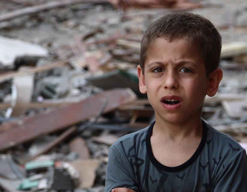 Gaza boy
