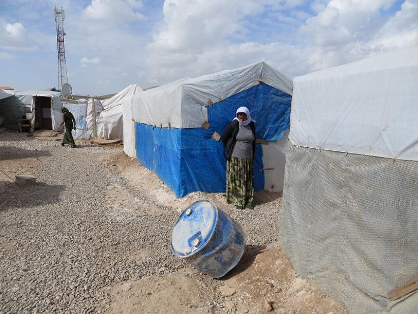 Yazidees Zozan Camp Dahuk 7