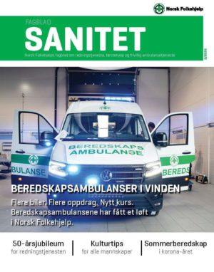 Fagblad Sanitet 3 2020 Forside