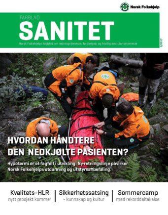 Forside Fagblad Sanitet 2017 03