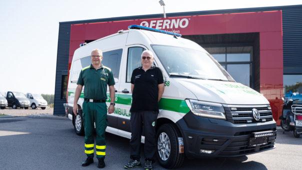 Ambulanse Oslo 12 til nett