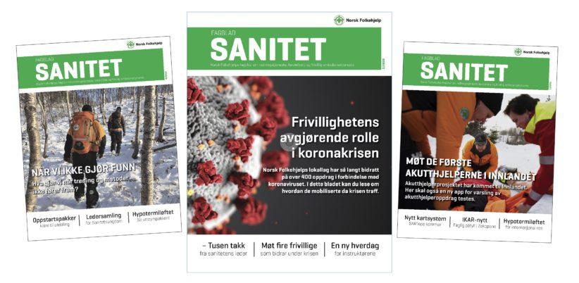 Forsider fagbladet