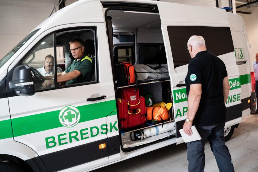 Ambulanse Oslo 10 til nett