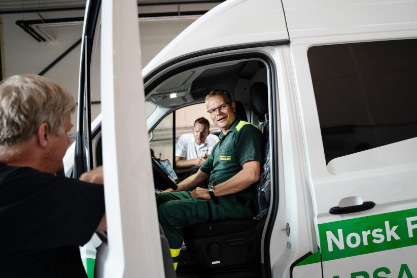 Ambulanse Oslo 11 til nett
