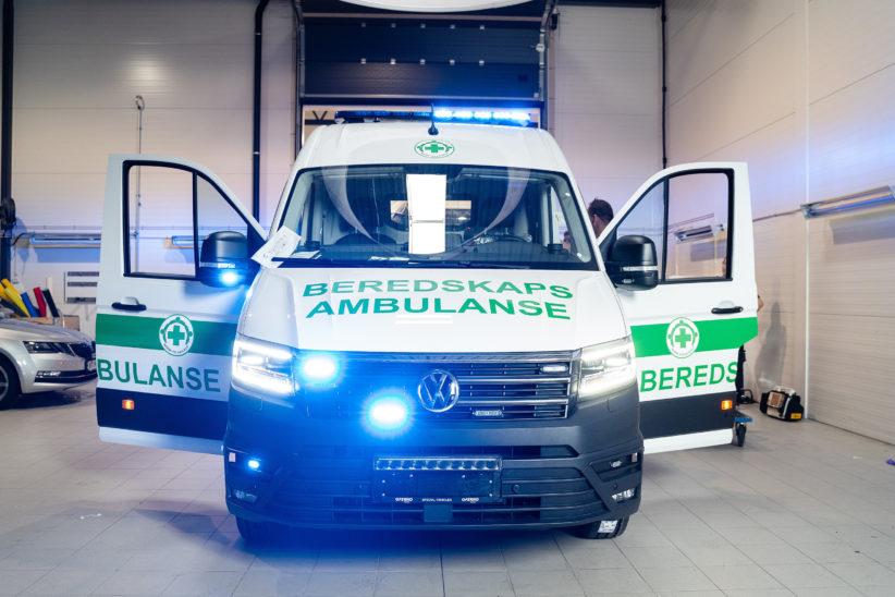 Ambulanse Oslo 4 til nett