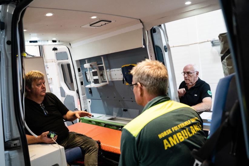 Ambulanse Oslo 5 til nett