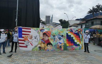 Fra hovedstaden Bogotá.